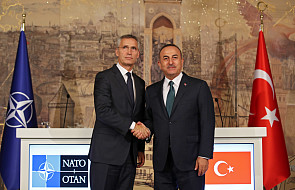 """Szef NATO wzywa Ankarę do działania """"z powściągliwością"""""""