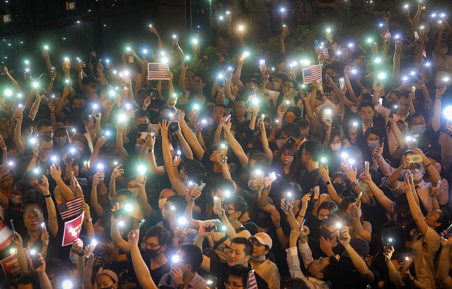 Szefowa władz Hongkongu wykluczyła ustępstwa wobec protestujących