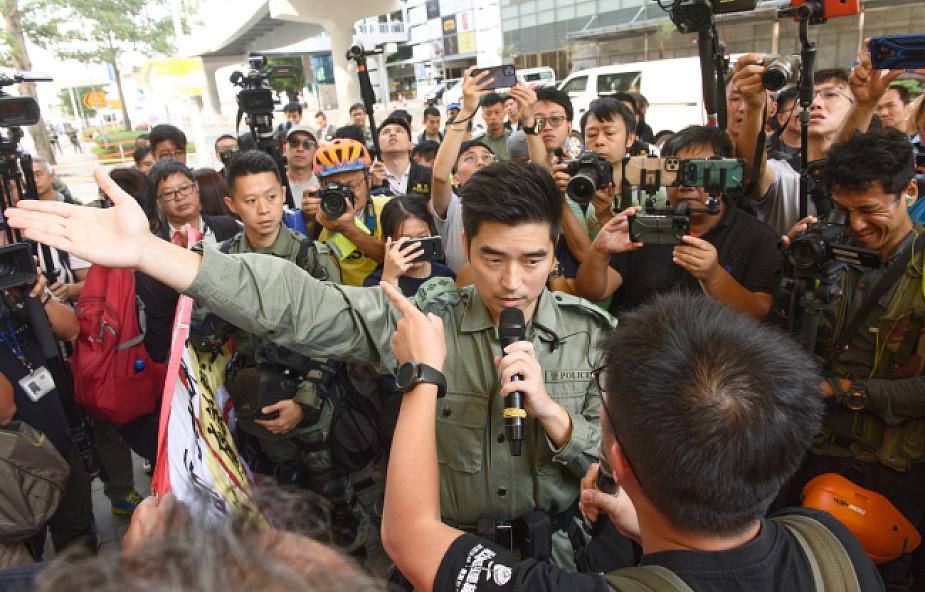 Brutalny atak na działacza demokratycznego w Hongkongu
