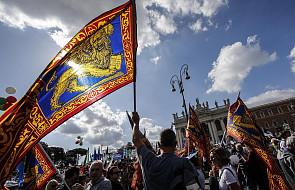 Włochy: około 200 tys. osób na antyrządowej demonstracji w Rzymie