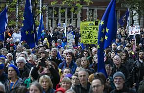Wielka manifestacja w Londynie na rzecz referendum w sprawie umowy o brexicie