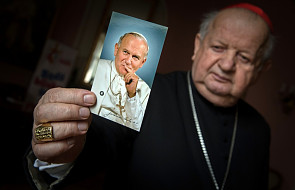 Kard. Dziwisz: Jan Paweł II stawiał młodzieży wysoką poprzeczkę
