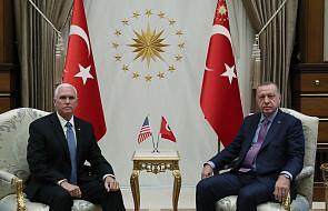 """Erdogan: omówię z Putinem rozlokowanie syryjskich sił w """"strefie bezpieczeństwa"""""""