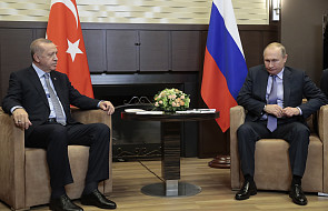 Putin w czasie rozmów z Erdoganem: sytuacja w Syrii jest bardzo ostra