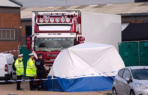 W. Brytania: 39 osób, których ciała znaleziono w ciężarówce, to Chińczycy