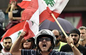 Prezydent Libanu gotowy do rozmów z protestującymi
