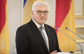 Prezydent Niemiec nawołuje do poszanowania wolności słowa