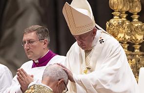 Watykan: papież Franciszek udzielił sakry 4 biskupom