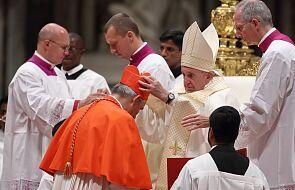 Papież zapowiedział konsystorz. Mianuje 13 kardynałów