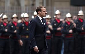 Macron po ataku w prefekturze policji wzywa do wspólnej walki z terroryzmem