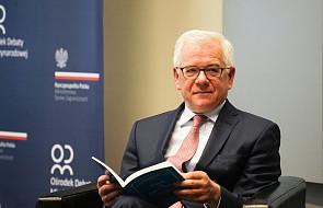 Czaputowicz: w UE zaniepokojenie zmianą polityki Francji wobec NATO