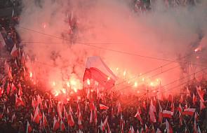 Warszawa: z ronda Dmowskiego ruszył Marsz Niepodległości