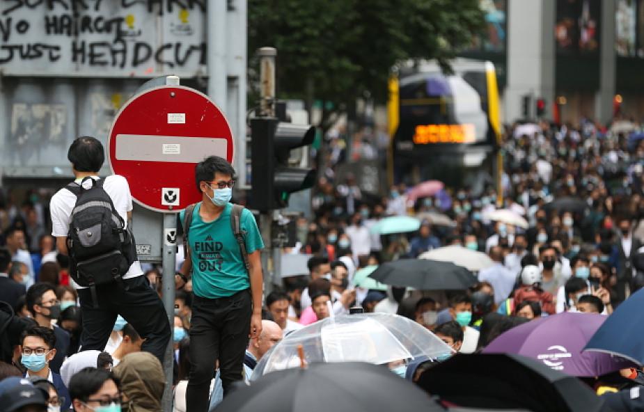 USA potępiają nadmierne użycie siły przez policję i przemoc w Hongkongu