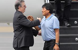Były prezydent Boliwii przyleciał do Meksyku, gdzie otrzymał azyl polityczny
