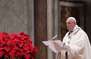 Właśnie tak będzie wyglądało Boże Narodzenie papieża Franciszka