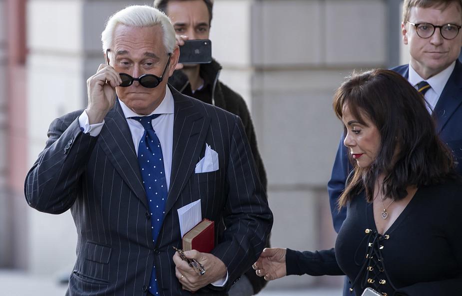 USA: doradca Trumpa Roger Stone uznany za winnego; grozi mu 20 lat więzienia