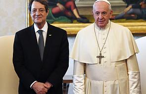 Papież przyjął na audiencji prezydenta Cypru