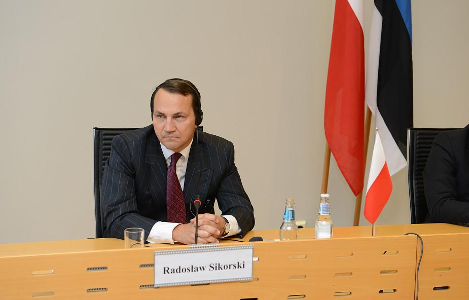 Sikorski ogłosił, że nie wystartuje w prawyborach prezydenckich PO