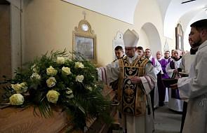Kalwaria Zebrzydowska: pogrzeb o. Mikołaja Rudyka OFM