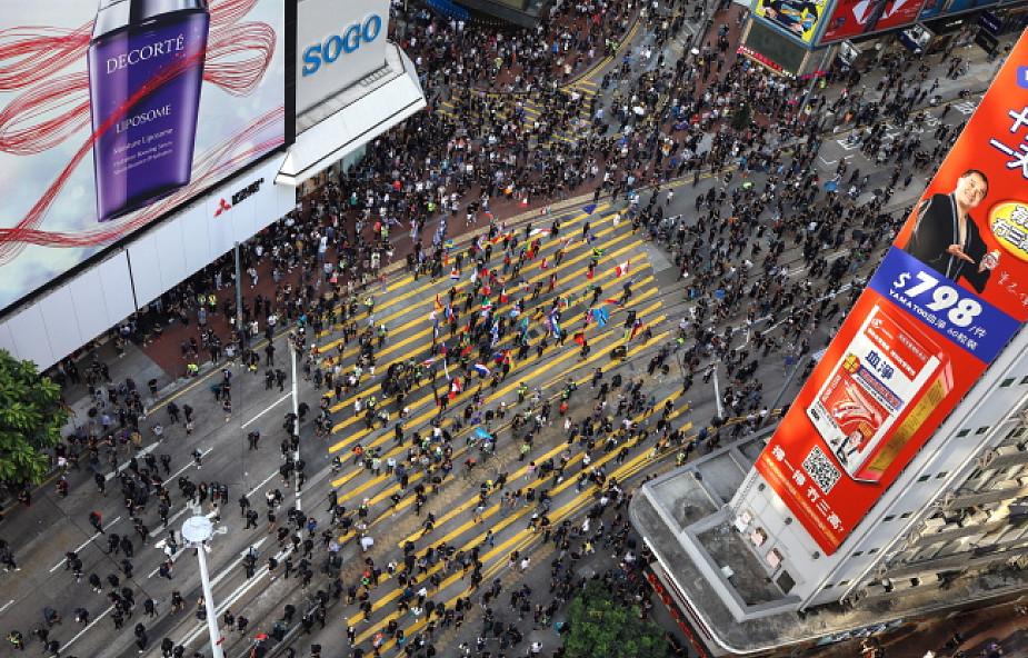 Protestujący w Hongkongu zaatakowali redakcję agencji Xinhua