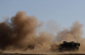 Izrael ostrzelał irańskie cele w Syrii po ataku rakietowym na Wzgórza Golan