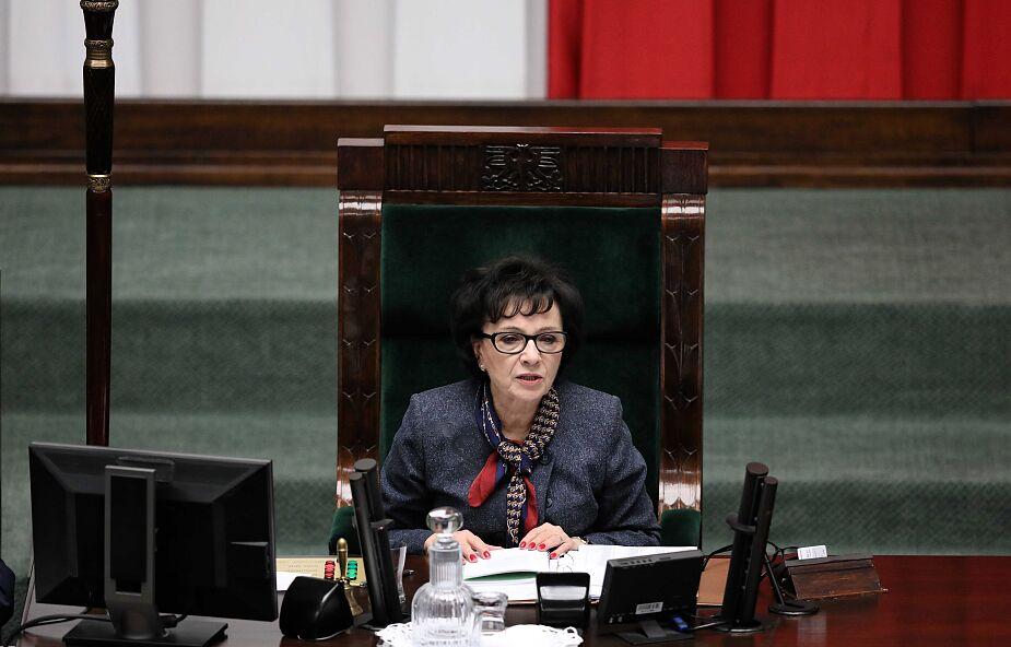 Lewica zawiadamia prokuraturę ws. podejrzenia popełnienia przestępstwa przez marszałek Witek