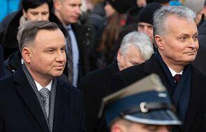 Prezydenci Litwy i Polski złożyli hołd bohaterom powstania styczniowego