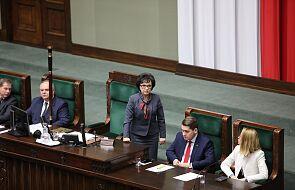CIS: marszałek Sejmu w momencie podejmowania decyzji o anulowaniu głosowania, nie znała jego wyniku