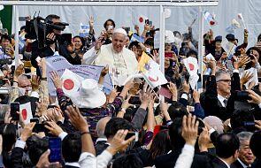 Papież apeluje w Nagasaki o likwidację broni nuklearnej
