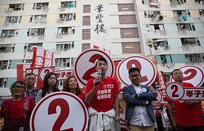 Wysoka frekwencja w wyborach lokalnych w pogrążonym w kryzysie Hongkongu