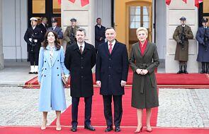 Duńska para książęca rozpoczęła wizytę w Polsce