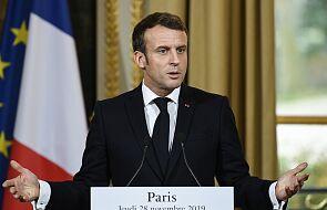 """Macron: słowa o """"śmierci mózgu"""" NATO były potrzebne"""