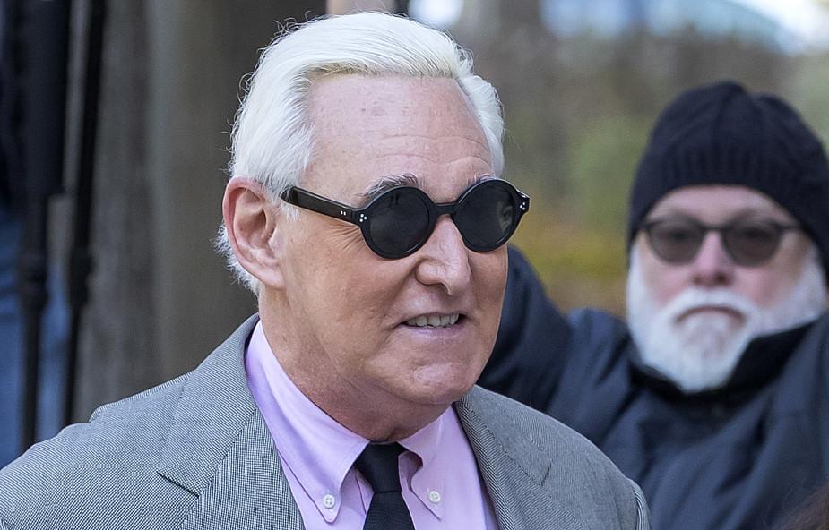 USA: ruszył proces Rogera Stone'a, doradcy Donalda Trumpa