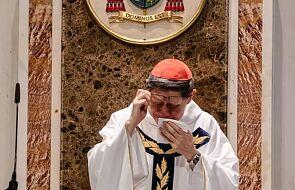 """Kardynał Tagle zalał się łzami. """"Wiemy, że jego serce jest rozdarte"""""""