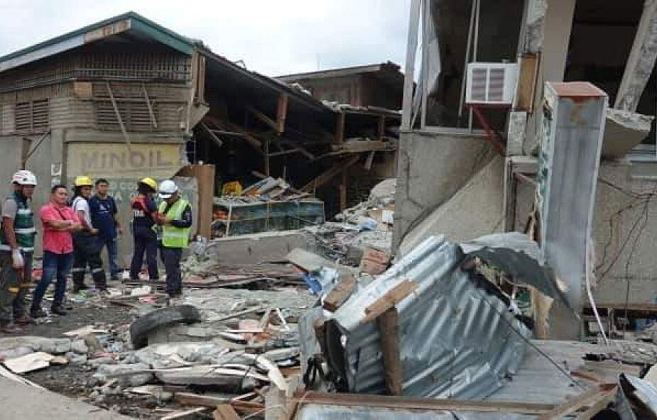 Filipiny: 14 osób rannych, zniszczone budynki w trzęsieniu ziemi na Mindanao