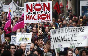 Francja / Media: policja użyła gazu łzawiącego wobec protestujących w Nantes