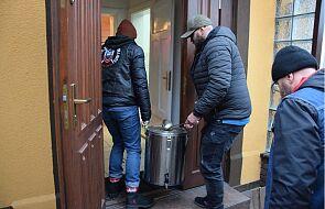 To była niezwykła wizyta policjantów u bezdomnych