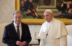 Papież i szef ONZ: nie można odwracać wzroku wobec niesprawiedliwości i głodu