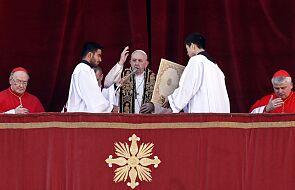 Papież apeluje w świątecznym orędziu o pokój w Syrii, Iraku, na Ukrainie