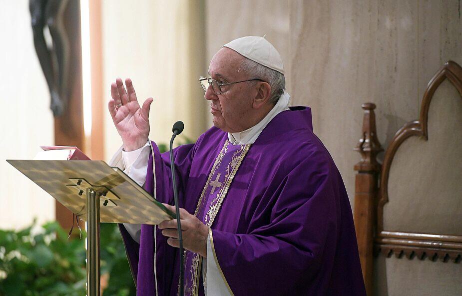 Franciszek w Domu św. Marty: chrześcijaństwo bez pokory upadnie