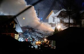 Gaz wybuchł w domu w Szczyrku; mogą być poszkodowani