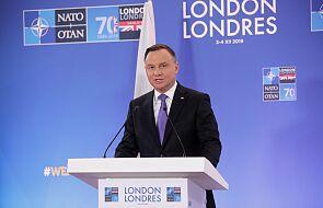 Prezydent: w rozmowie z Macronem akcentowałem, by budowa wspólnej sfery bezpieczeństwa odbywała się w ramach NATO