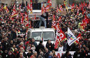 Francja: z powodu strajku generalnego wielu pracowników zostało w domach