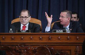 USA: szef komisji Kongresu oskarżył Trumpa o złamanie przysięgi