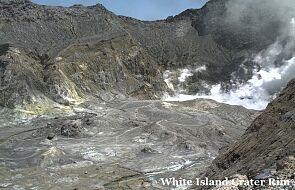Nowa Zelandia: pięć ofiar śmiertelnych erupcji wulkanu