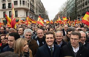 Hiszpania: około 45 tys. osób na antyrządowym wiecu w Madrycie