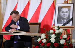 Prezydent: wolna i suwerenna Polska była największą miłością Jana Olszewskiego