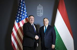 Węgry: Pompeo o potrzebie wsparcia dążeń Ukrainy