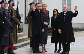 Rozpoczęło się spotkanie prezydenta Dudy z wiceprezydentem USA