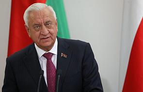 Prezydent spotkał się z szefem Rady Republiki Zgromadzenia Narodowego Białorusi